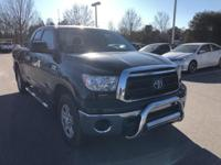 Black 2011 Toyota Tundra Grade 4WD 6-Speed Automatic