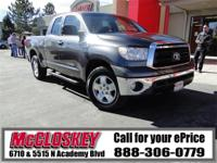 ONE OWNER! 2011 Toyota Tundra! Travel to the Tundra and