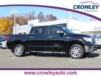 2011 Toyota Tundra Limited Platinum Crew Max in Black.