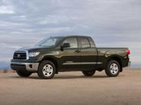 2011 Toyota Tundra and 2 Years of Maintenance Included.