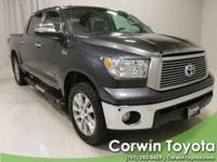 2011 Magnetic Gray Metallic Toyota Tundra Limited