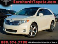 We are delighted to offer you this 2011 Toyota Venza