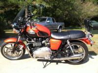 2011 Triumph Bonneville Special Edition. 5,000 Miles.