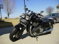 2011 Triumph Thunderbird Storm 1700-Lightly used and