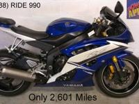 2011 Used Yamaha R6 For Sale-U1866 in raven and candy