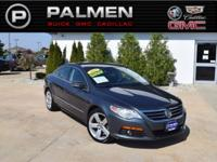 Gray 2011 Volkswagen CC Lux FWD 6-Speed DSG Automatic
