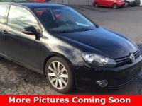 One Owner 2011 Volkswagen Golf TDI Hatchback, Warranty,