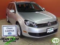 2011 JETTA SPORTWAGEN TDI! ENERGY EFFICIENT DIESEL!
