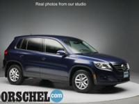 Options:  Tiguan Protection Kit  Trailer Hitch  2 Liter