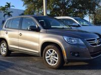 2011 TIGUAN S. 2.0L Turbocharged engine. Automatic
