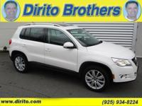This all wheel 4 motion Tiguan has a clean carfax and