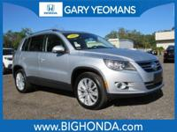 This 2011 Volkswagen Tiguan Includes. CLEAN CARFAX NO