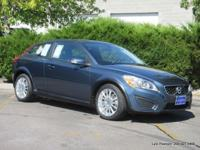 2011 C30 T5 in Baltic Blue with charcoal interior.