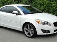 New Price! CARFAX One-Owner. Ice White 2011 Volvo C70