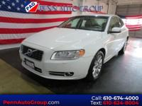 New Price! Clean CARFAX. White 2011 Volvo S80 3.2 FWD