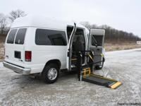 This is a 2011 Wheelchair Accessible Ford E-350 XLT