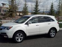 I am selling our 2011 White Acura MDX. 3.7 L V-6. All