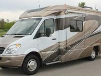2011 Winnebago View 24G, Diesel fuel, 20000 miles,