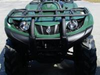 2011 YAMAHA 350 GRIZZLY 4X4 WITH PUSH BUTTON 4X4,