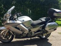 2011 fjr1300 with 17400 miles, in excellent condition,