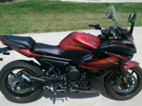Outstanding Condition Yamaha FZ6R, 1400 miles. Comes