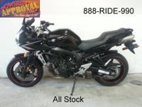 2011 Yamaha FZ6R Raven Edition for sale with only 3,879