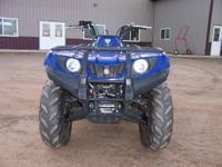 2011 Yamaha Grizzly 350cc 4 wheeler 4wd, ONLY 841
