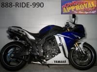 2011 Yamaha R1. Clean and cool Team Yamaha Blue and