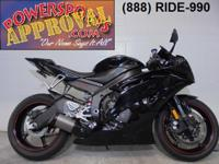 2011 Yamaha R6 Raven Edition sport bike with Fender