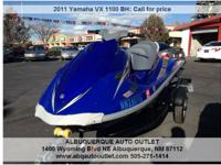 2011 Yamaha VX 1100 BH with shorelander trailer.