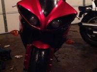 2011 Raven Red R1. It currently is sitting at 3349