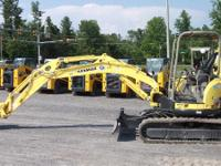 2011 Yanmar ViO55-5B 0% Financing or Cash Rebates