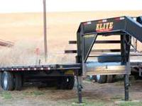 NEW 2011 30' Tandem Dual Wheel GN Elite Flatbed