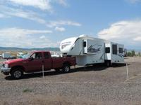 "34"" premium fifth wheel by Keystone AND Ford 350 truck"