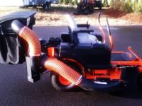 2011 BAD BOY ZT50 ZERO TURN MOWER.........BAGGING