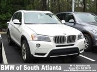 Alpine White 2011 BMW X3 xDrive35i AWD 8-Speed