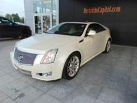 This 2011 Cadillac CTS Coupe Performance is offered to