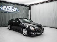 2011 CADILLAC CTS COUPE PERFORMANCE: BLACK RAVEN/ BLACK