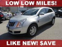 **** ONE OWNER - Clean CarFax **** SUPER LOW MILES ****