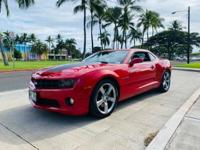 2011 Chevrolet Camaro SS 1SS Victory Red RWD 6-Speed