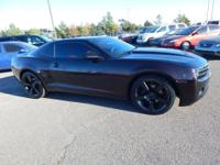 Black 2011 Chevrolet Camaro 2LT Red Metallic Flake