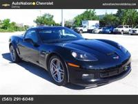 2011 CHEVROLET Z06 CORVETTE COUPE WITH 3LZ: GM