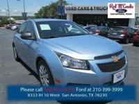 Come see this 2011 Chevrolet Cruze LS. This Cruze