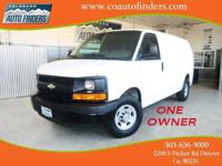 2011 White Chevrolet Express G2500 For Sale in