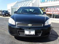 Options:  2011 Chevrolet Impala Ls|Black|Clean Carfax.