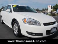CERTIFIED PRE-OWNED! 2011 Chevy Impala LT Sedan.