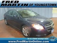 CLEAN CARFAX. Malibu LT 1LT and Cloth. Hurry in! Are