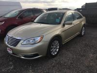 White Gold Clearcoat 2011 Chrysler 200 Touring FWD