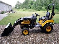 For sale 2011 Cub Cadet Sc2400 tractor with CL100
