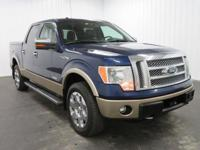 Options:  2011 Ford F150 Supercrew Cab Lariat Pickup 4D